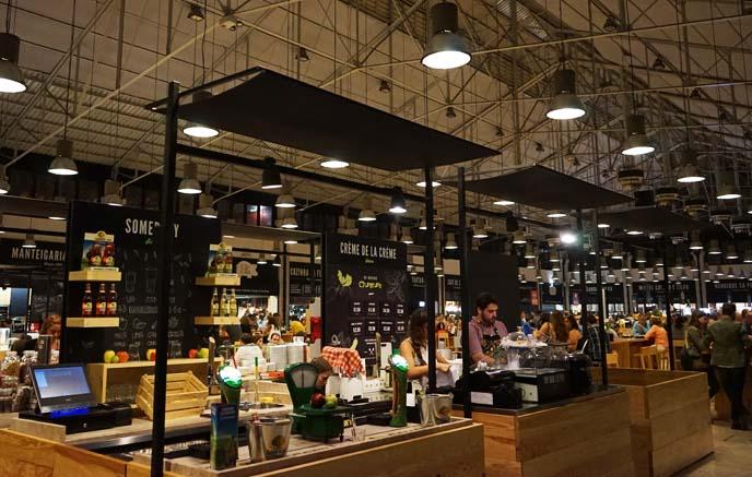 Mercado da Ribeira market, food