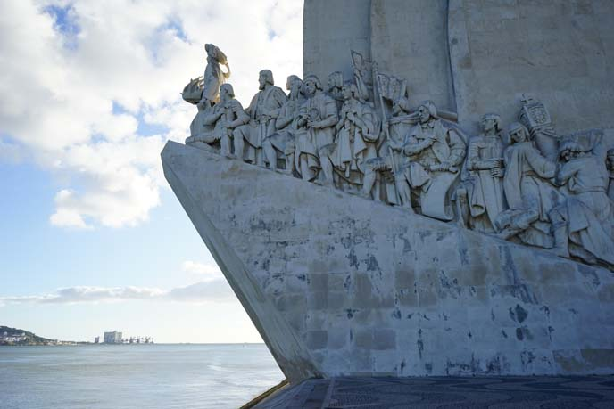belem portugal, monument to discoveries