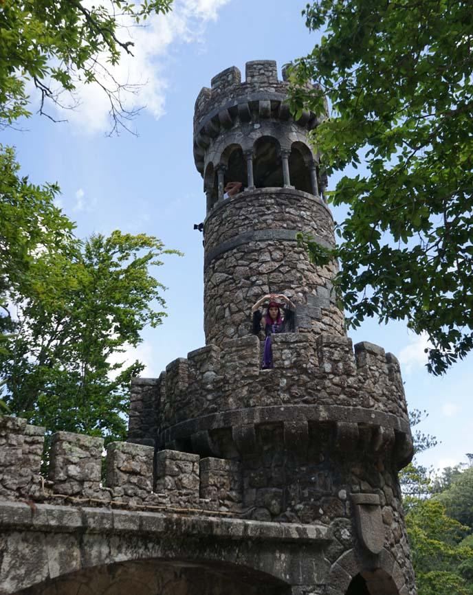 sintra portugal castle, architecture