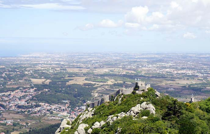 moor castles in portugal