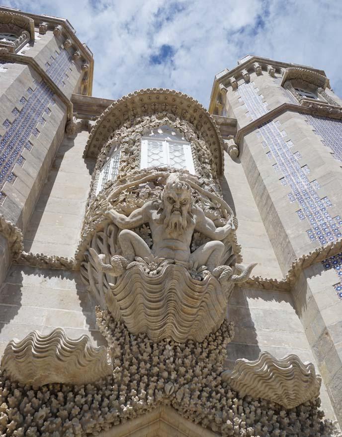 sintra portugal palacio pena poseidon