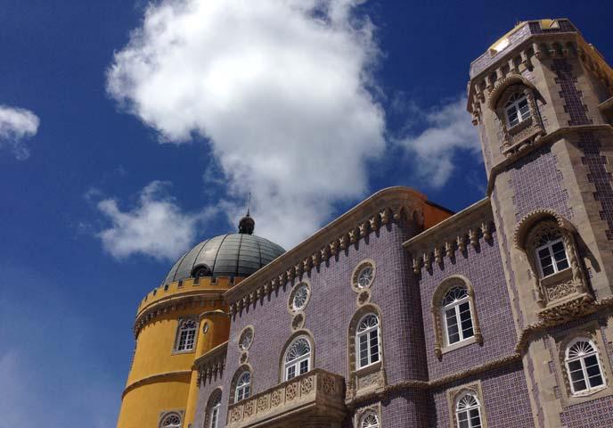 Pena National Palace, disney castle sintra