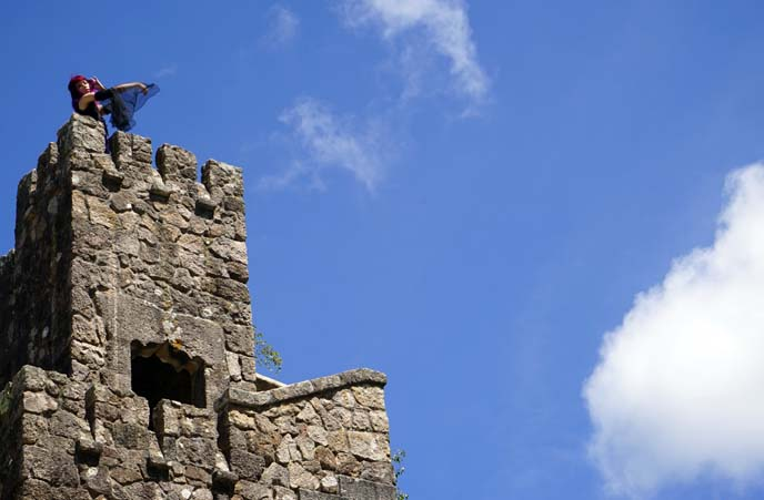 fairytale castle tower, Quinta da Regaleira