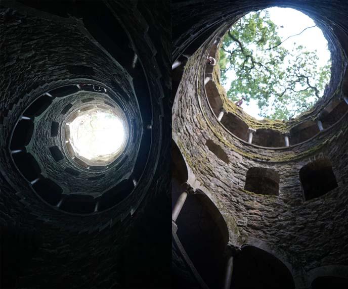 Quinta da Regaleira spiral staircase