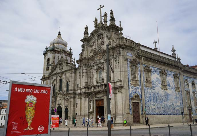 porto carmo and Carmelitas Church