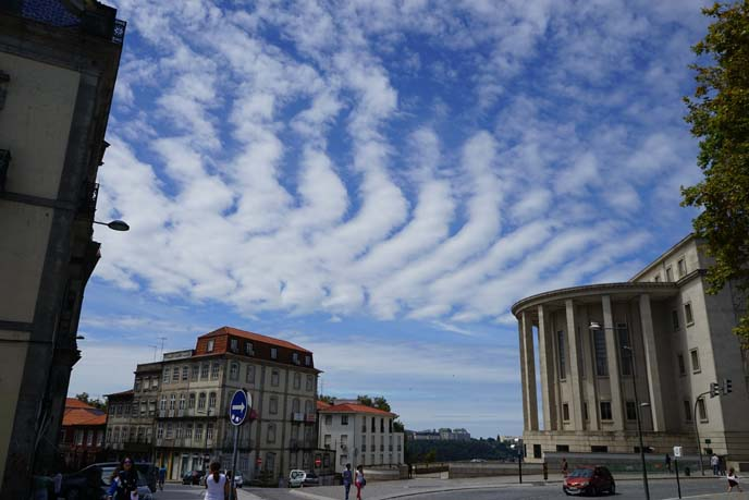 porto travel blog, blue skies