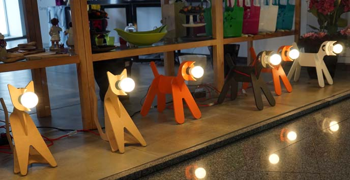 dog shaped lamps