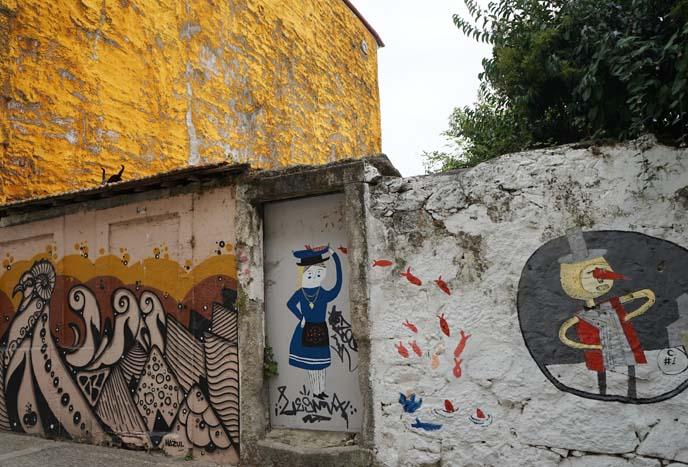 street art murals porto portugal