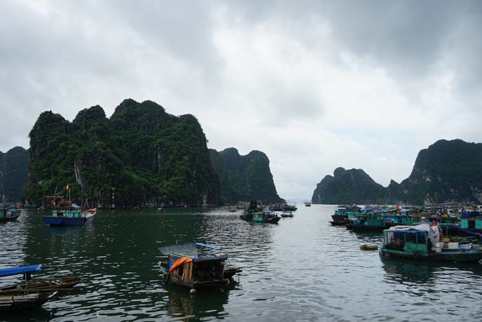 ha long bay mountains, islands