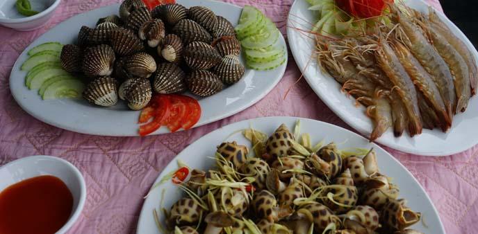vietnamese seafood, mussels