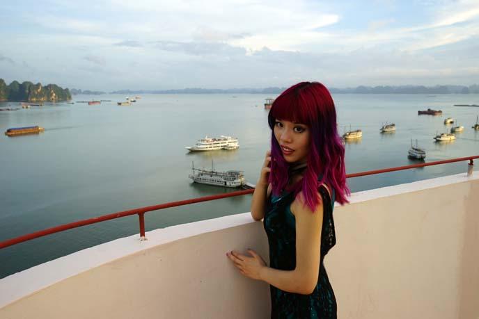 Halong Plaza Hotel view