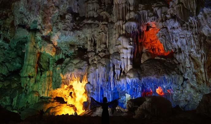 stalactites vietnam cave