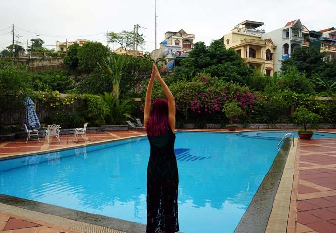 vietnam hotel swimming pool