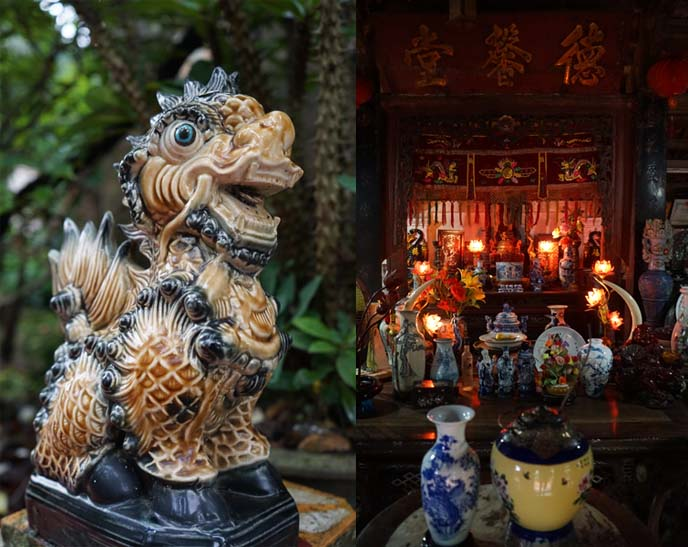 ancestor worship, shrine vietnam home