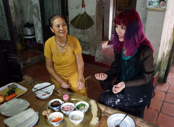 female food tv host