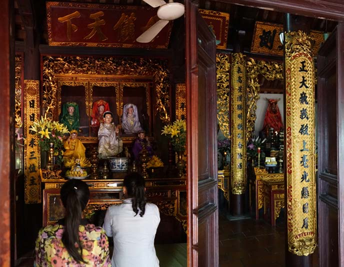 vietnamese mother worship, ancestor shrine