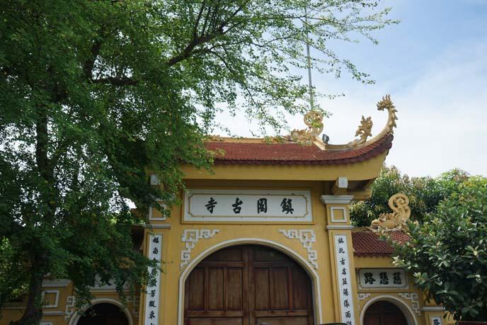vietnamese architecture, roof curve