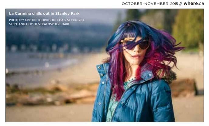 vancouver fashion blogger, magazine