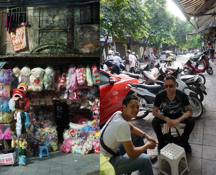 toy street hanoi, Luong Van Can