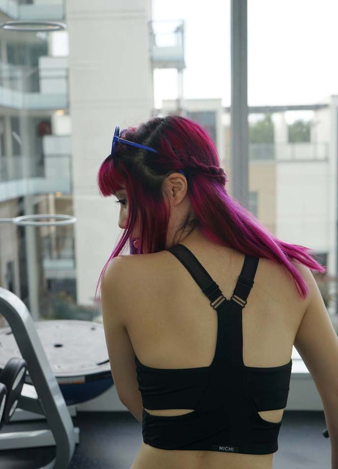 gothic activewear, workout clothes