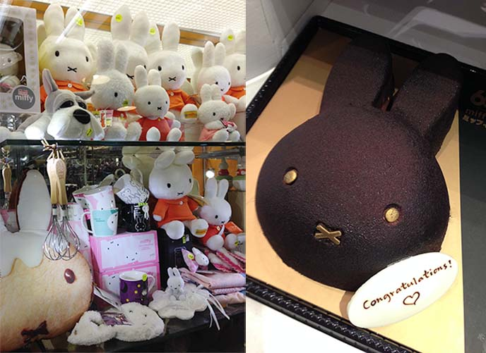 dark chocolate miffy cake, arome hong hong
