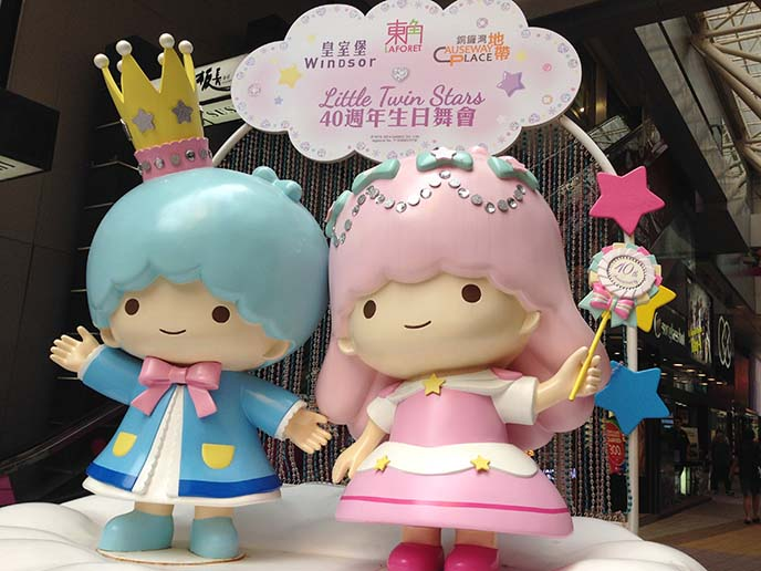 little twin stars sanrio statue