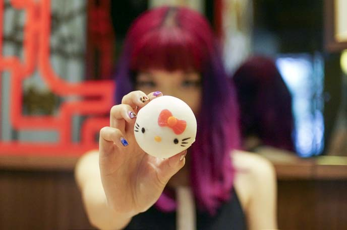 hello kitty dim sum bun, recipe