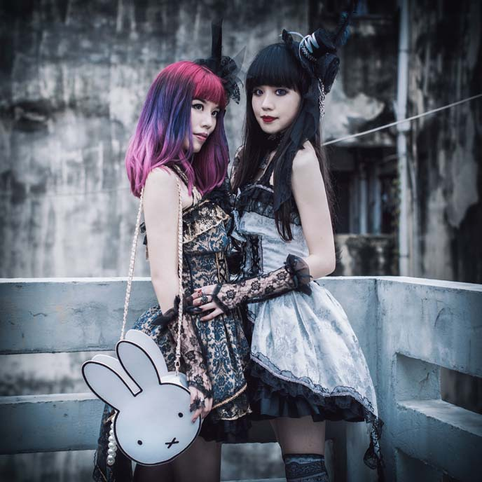 chinese gothic lolita dresses, spider hong kong