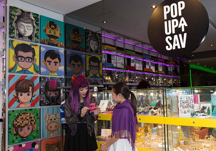 pop up at sav, hotel hong kong