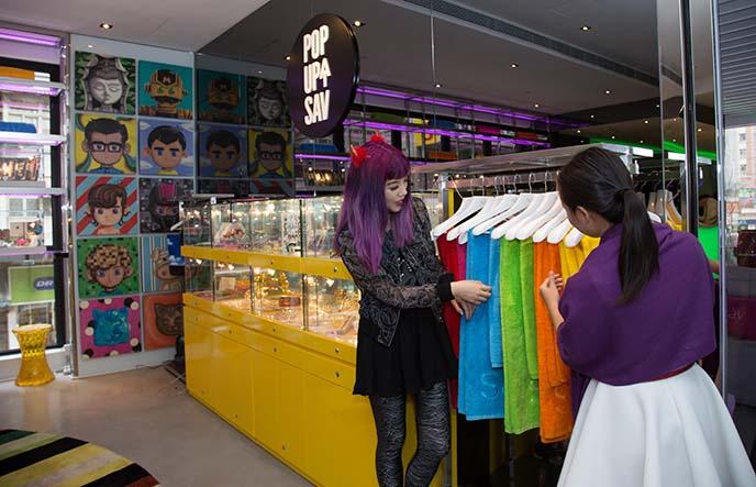 hong kong indie fashion design shop
