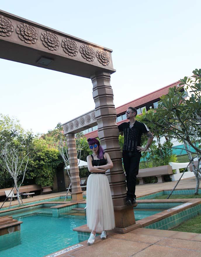 cambodia hotel outdoor swimming pool