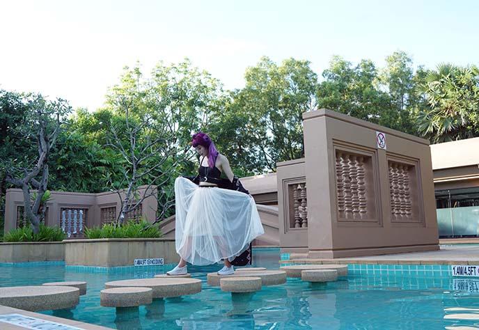 le meridien angkor swimming pool