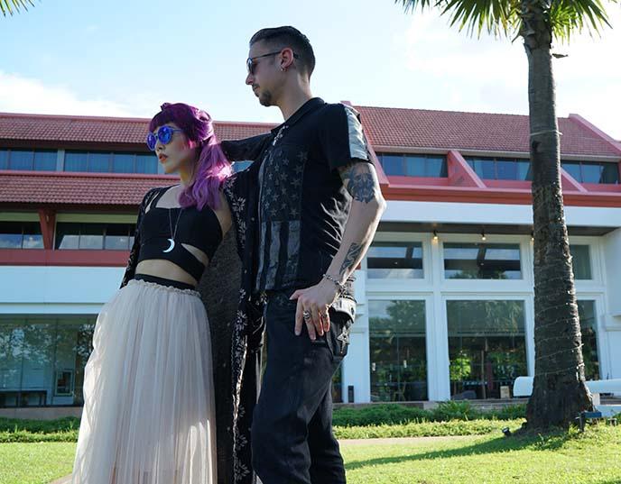 pylo clothing, goth witch occult fashion