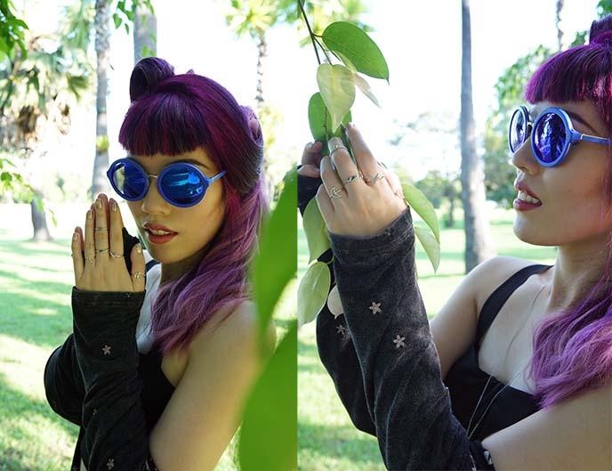 philip lim linda farrow sunglasses