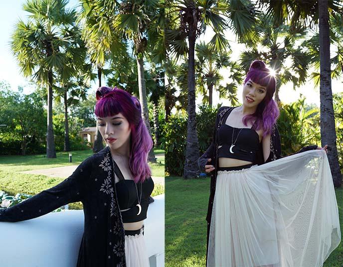 alternative girl portrait photography