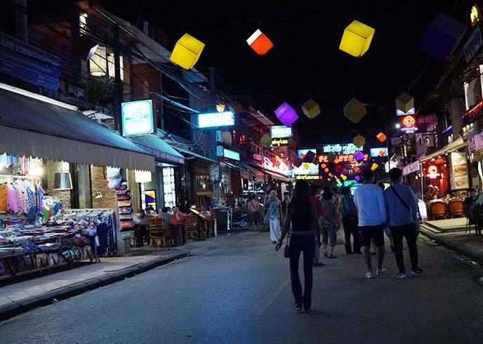 pub street cambodia backpackers