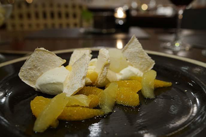 italian desserts, l'angelo le meridien