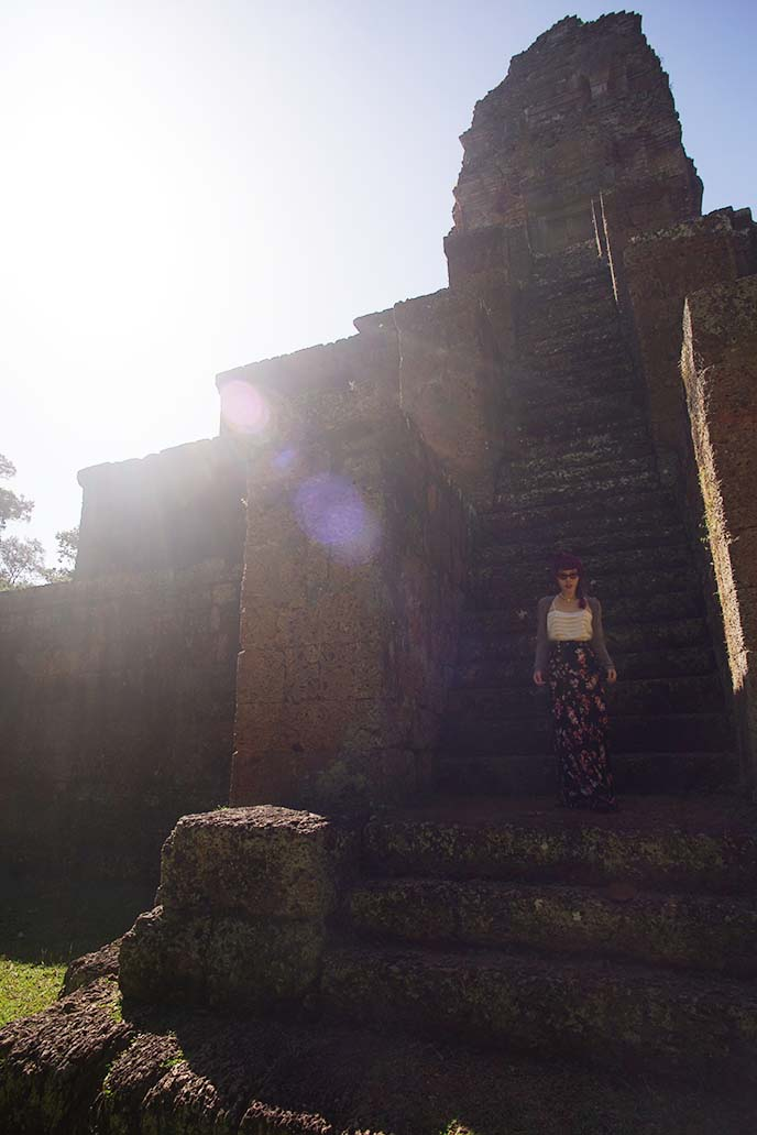 tomb raider photoshoot, angkor wat