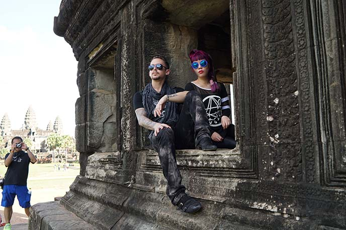 angkor wat models photoshoot
