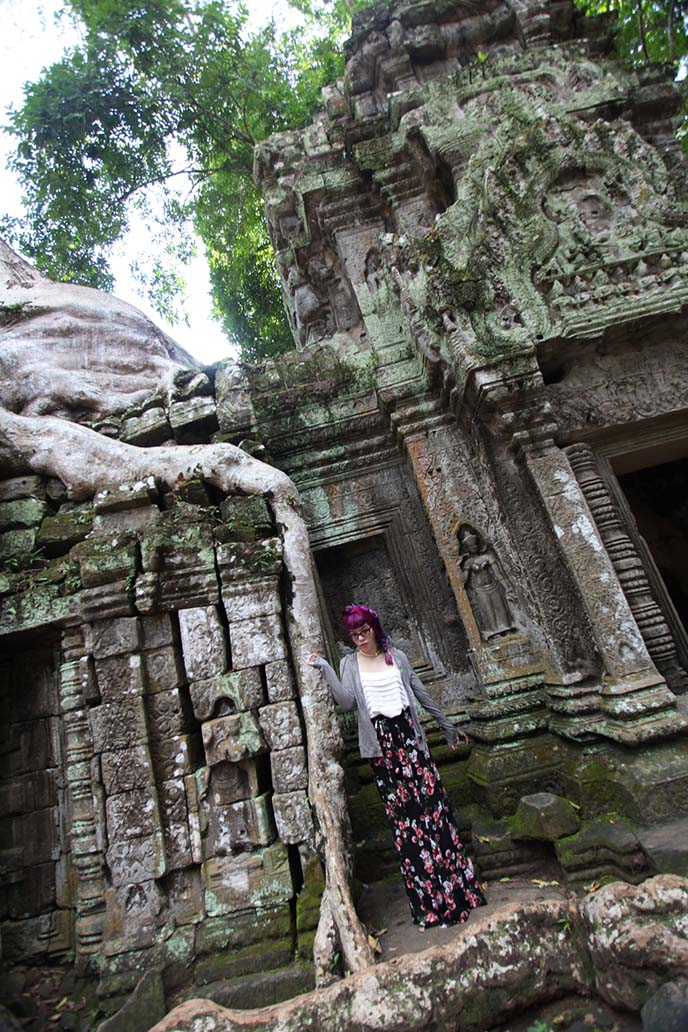 tomb raider temple cambodia cosplay