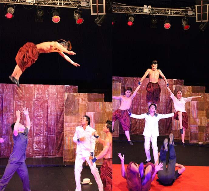phare cambodian circus acrobats