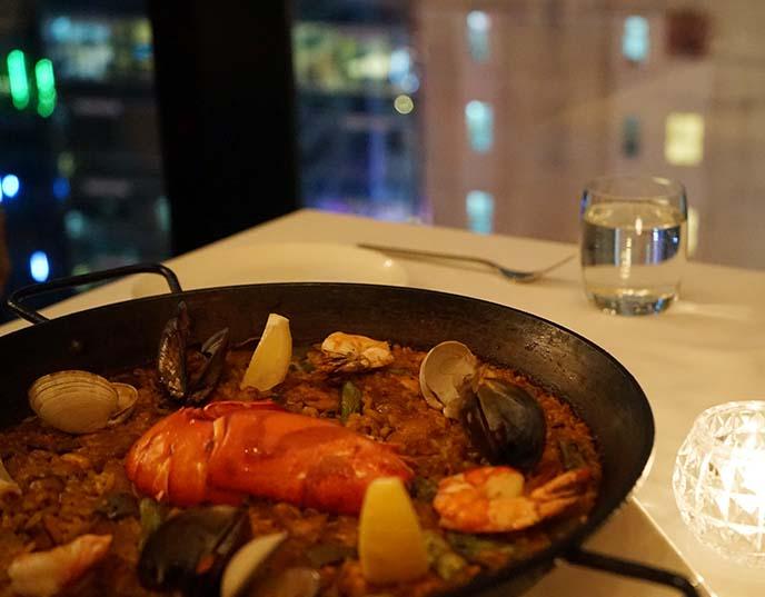 fofo spanish restaurant, paella