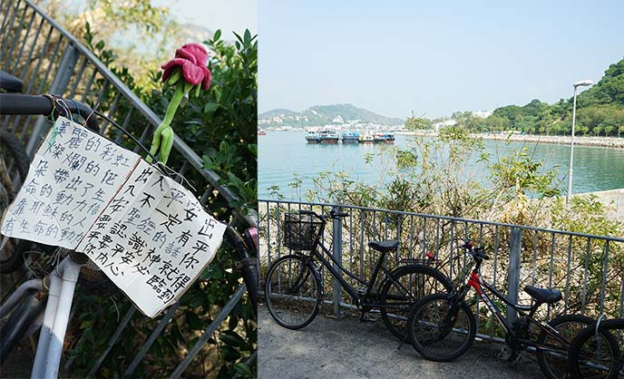 bicycles cheung chau island
