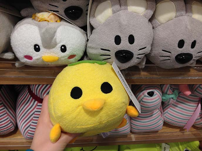 miniso cute stuffed toys