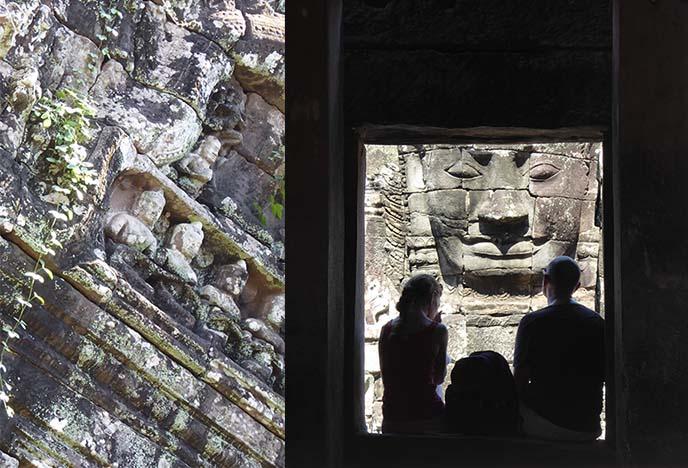 bayon angkor wat buddha face