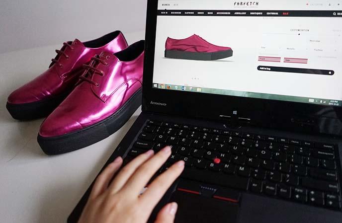 customizing designer shoes
