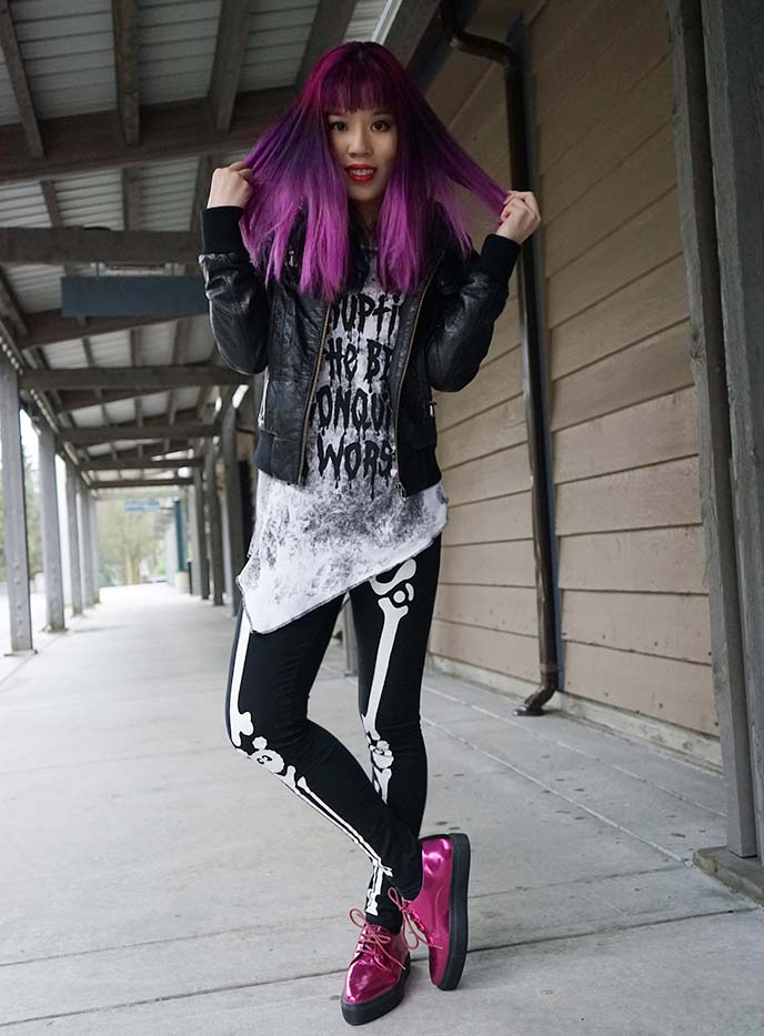 kpop style blogger outfit post
