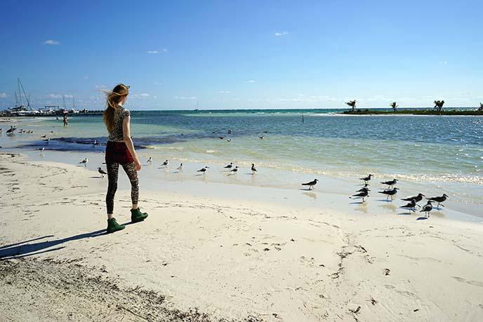 tulum white sand beach