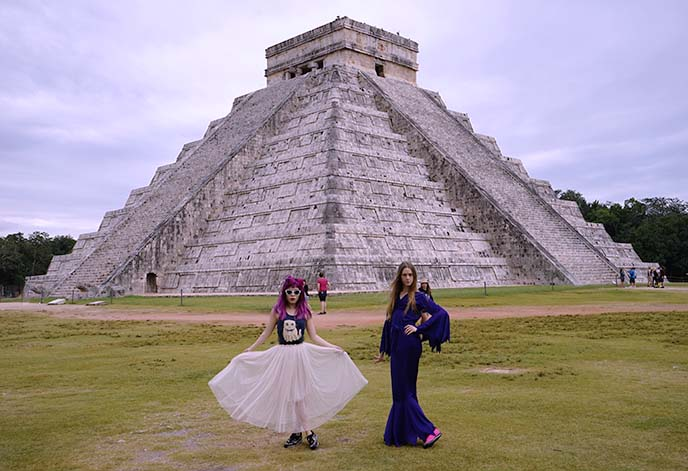 chichen itza pyramid, tour