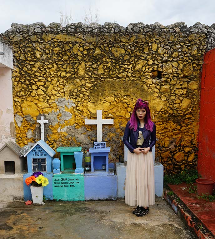 mexican gravestones, tombs